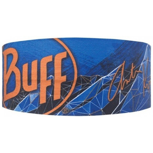 Buff Headband Anton Blue Ink