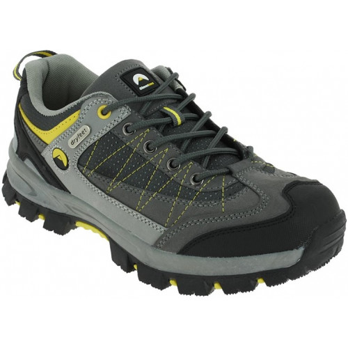 AOSTA GRISJAUNE Chaussures de randonnées de confort