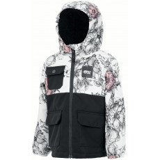 Picture Snowy Jkt Peonies White