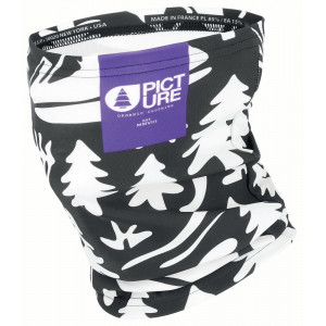 Picture Neckwarmer Camp Black