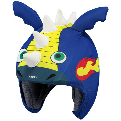 Barts Helmet Cover 3D Monster Blue