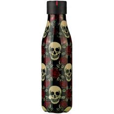 Visuel produit : Les Artistes Paris Bottle Up 500ml Rose & Tête de mort