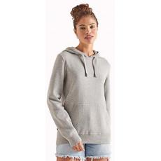 Superdry Essential Cotton Zip Hood Mid Marl