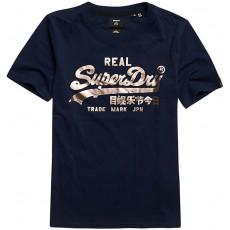 Superdry Vl Boho Sparkle Tee Eclipse Navy