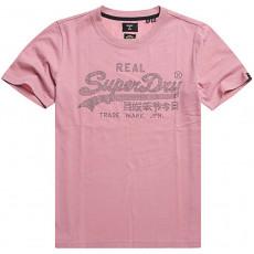 Superdry Vl Boho Sparkle Tee Soft Pink