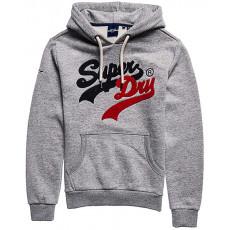 Superdry Vl Source Hood Athletic Grey Marl