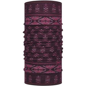 Buff Lightweight Merino Wool Frieze Deep Purple