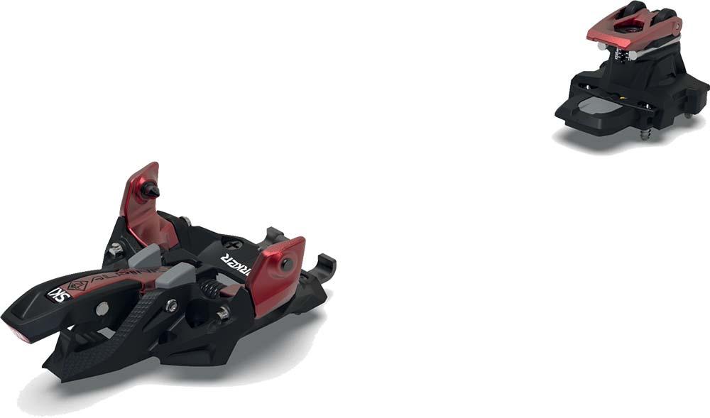 Visuel fixation:Marker Alpinist 12 Noir/Rouge