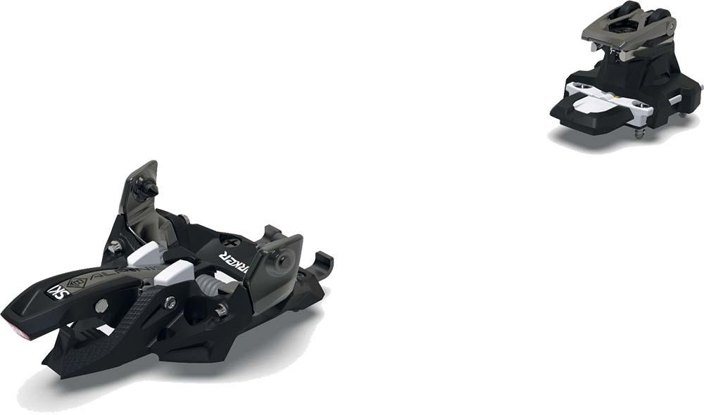 Visuel fixation:Marker Alpinist 8 Noir/Titanium