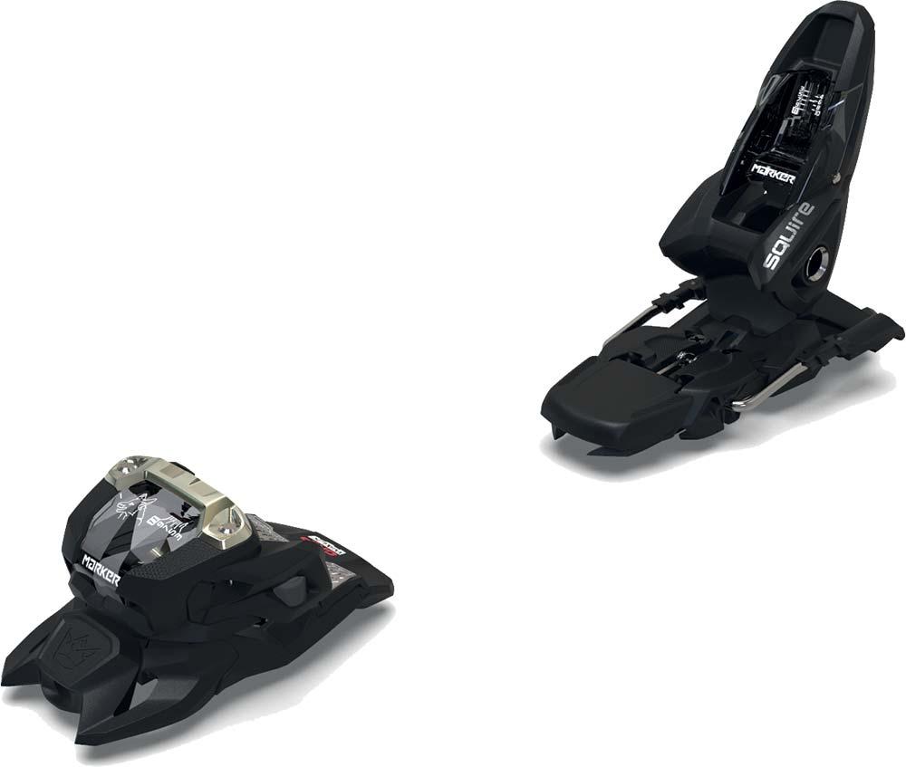 Visuel fixation:Marker Squire 11 ID 100mm Noir