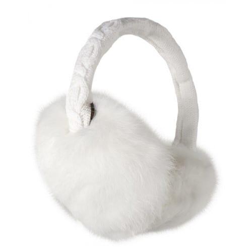 Visuel produit:Barts Fur Earmuffs Blanc