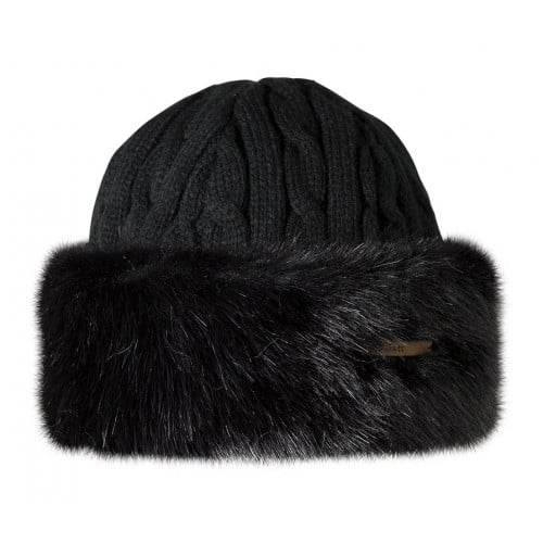 Visuel produit:Barts Fur Cable Bandhat Noir