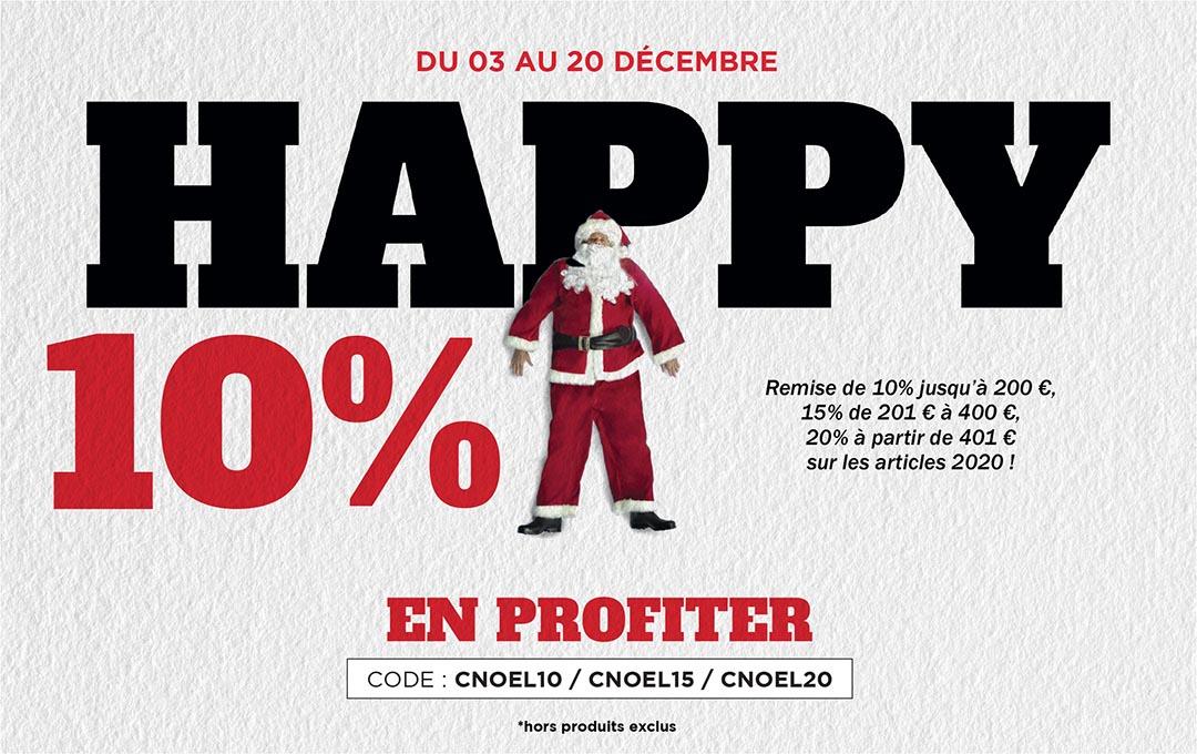 Les promos de Noël, 10% suppl. jusqu'à 200€