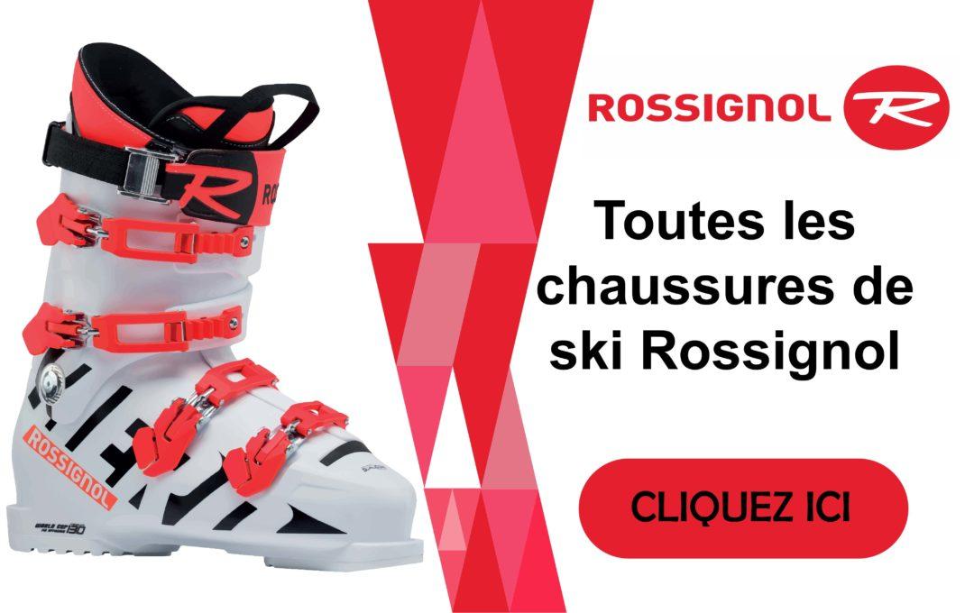 Découvrez nos chaussures de ski Rossignol