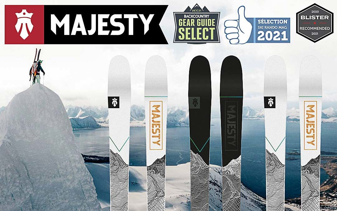 Nouvelle collection Majesty 2021 !