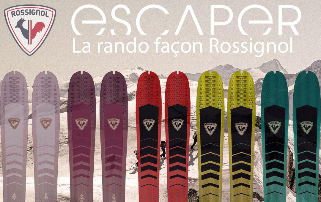 Ski de randonnée Rossignol 2022.