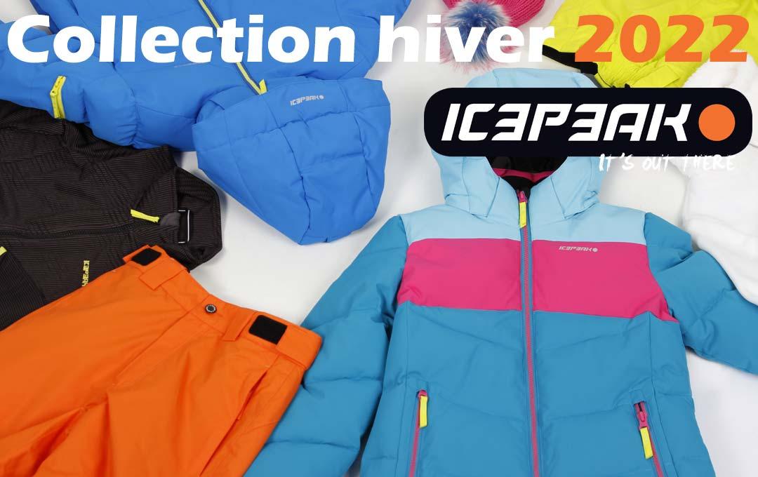 Collection ski Icepeak 2022 !