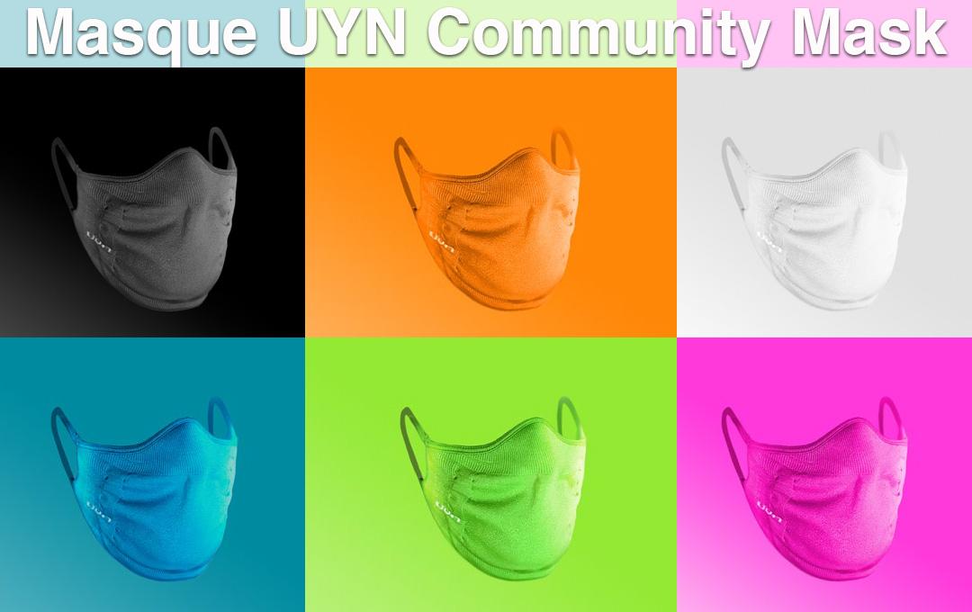 Les masques en tissu lavable Uyn arrivent !