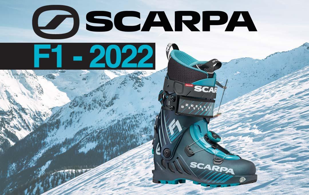 Chaussure de rando Scarpa F1 2022 !