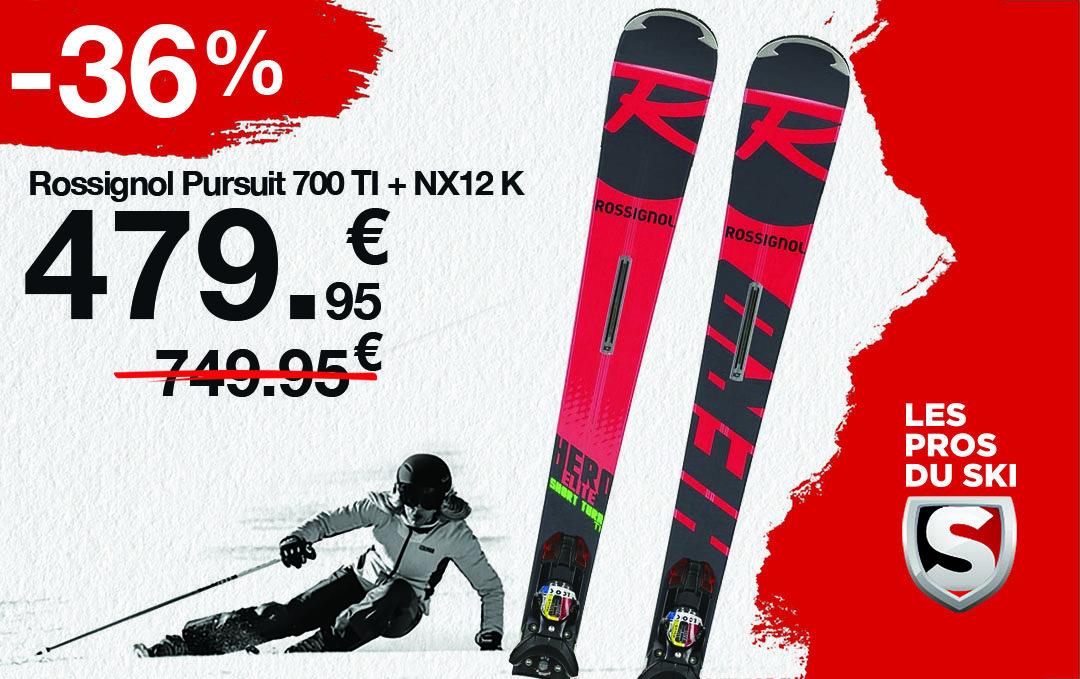 Prix Choc sur les packs de skis !