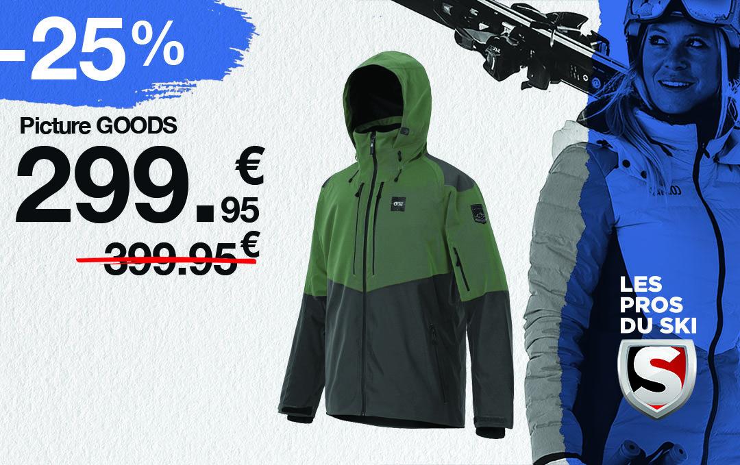 Prix Choc sur les vestes de ski !